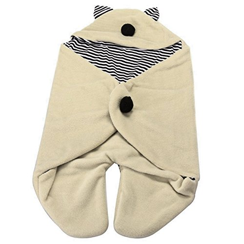 (Die Kotte) D ' Kotte baby's sleep! Enveloping, Swaddle Otolaryngology tail with fluffy to Afghan fl