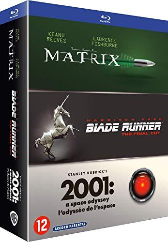 Coffret 3 films : matrix ; blade runner ; 2001, l'odyssée de l'espace 4k ultra hd