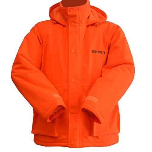 Wildfowler Waterproof Insulated Parka, Blaze Orange, Medium