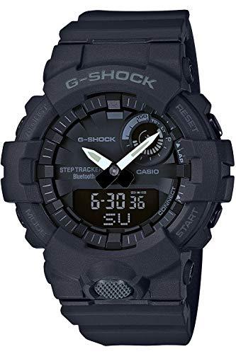 [カシオ] 腕時計 ジーショック 歩数計測 Bluetooth 搭載 GBA-800-1AJF メンズ ブラック