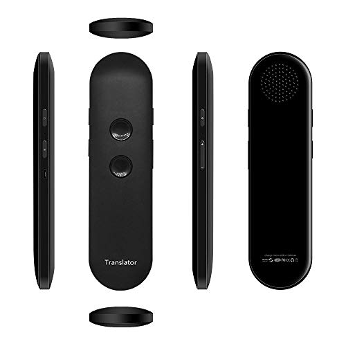 Muama Enence Intelligent Portable Voice Translator, AI Smart Recorder, Support 42 Languages Accurate Smart Real-Time Instant for Business Chat Travel Abroad