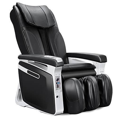 Naipo Massagesessel münzbetriebener gewerblicher Massagestuhl, Luft-Massage-System, Klopfen, Kneten, Digitialanzeige, Doppeltes Sicherheitsystem