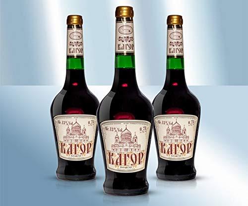 Moldawischer Rotwein Kagor süß 13%, 750ml
