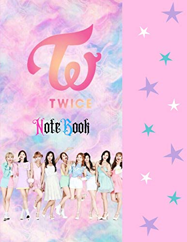 Twice Notebook: 150 pages college rule line paper size 8.5 x 11