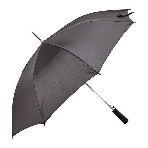 Ikea KNALLA Regenschirm in schwarz