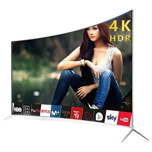 Smart TV con Pantalla LED 4K HD a Prueba de explosiones de 55 Pulgadas con HDMI Incorporado, USB - Soporte de Pantalla Cast Mirroring, Cable HDMI 4K HDR de Ultra Alta definición y Accesorios