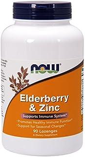 [海外直送品] ナウフーズ   Elderberry and Zinc Zinc 90 LOZ