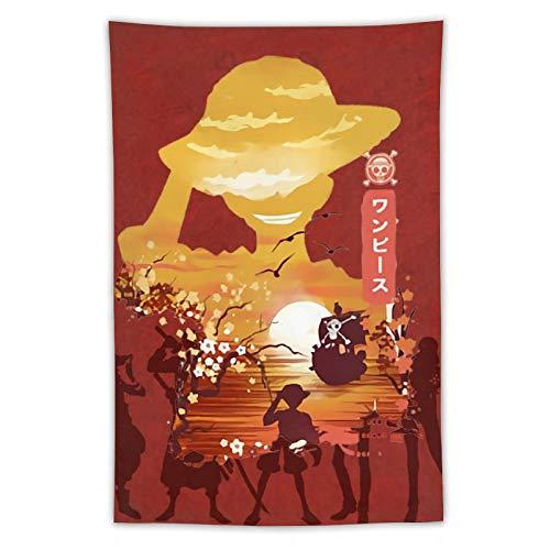 Pillow Socks Lindo tapiz On-e Pi-ece para colgar en la pared, dormitorio, decoración estética para interiores, para niños, niñas, mujeres, hombres, 101,6 x 228,6 cm