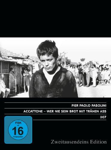 Accattone – Wer nie sein Brot mit Tränen aß. Zweitausendeins Edition Film 307.