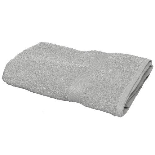 Towel City Luxury Bath Sheet Grey ONE