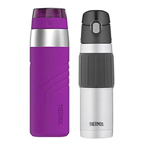 Thermos - Botella de agua deportiva, con aislamiento, botella de hidratación S/S, 532 ml