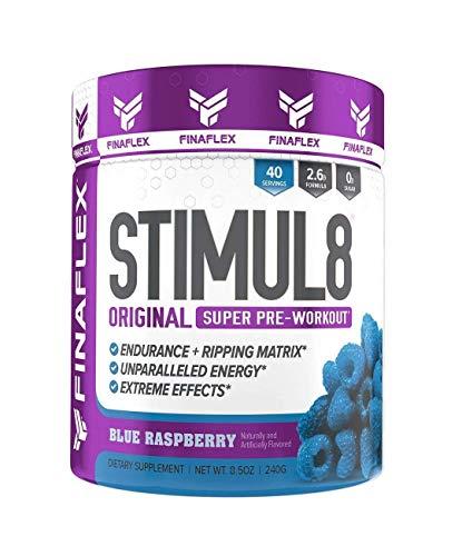 Finaflex Stimul8, Blue Raspberry, 8.6 oz (244 g)