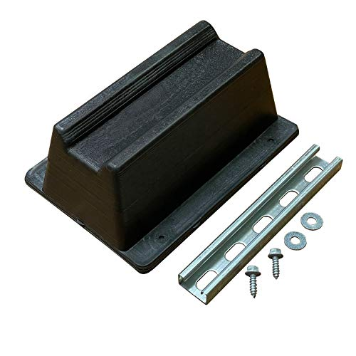 8 Pack Rooftop pipe Support with Hardware (Made in USA)   11.75 inches x 8 inches   1000 lbs capacity   UV Resistant