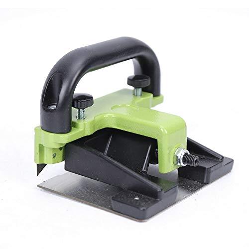 DNYSYSJ PVC de madera contrachapada de piso de cuero costuras de escrutinio cortador de empuje sin costuras cuchillos de borde de la banda recortadora mini herramienta de recorte de banda de p