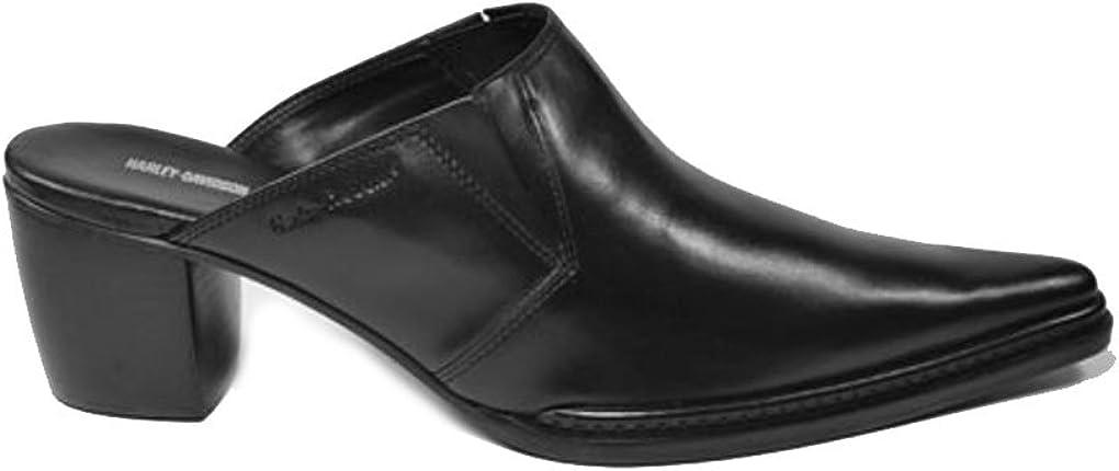 Harley-Davidson 83243 Nico Black Slip on Casual Women's Dress Shoes