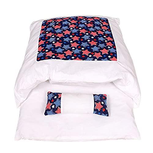 Saco de dormir extraíble para perro, gato, cama de gato, saco de dormir para el invierno, cálido, casa de gato, cama pequeña para mascotas, cojín para nido, productos para mascotas
