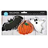 R & M International Halloween 3pc Color Cookie Cutter Carded Set