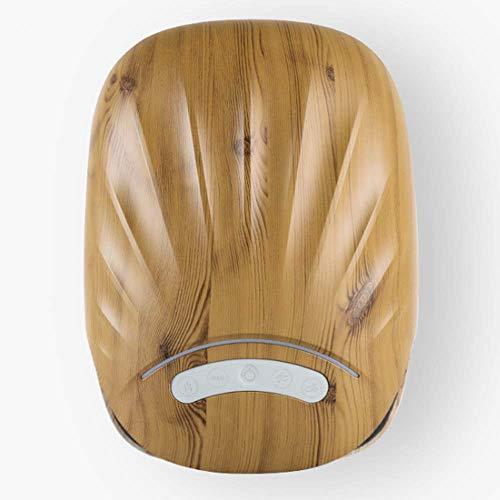 SHEHUIREN Akupressur Handmassagegerät Elektroknöchel Plam Handgelenk Heißdruckluftdruckmassagegerät USB Schnittstelle 270X195x130mm,Braun