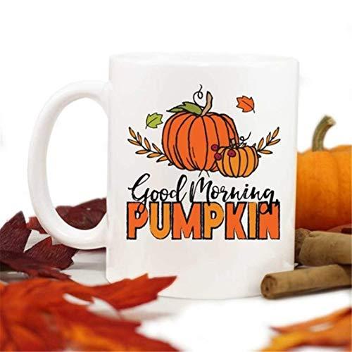 UUGOD You will always be my best Good morning pumpkin mug