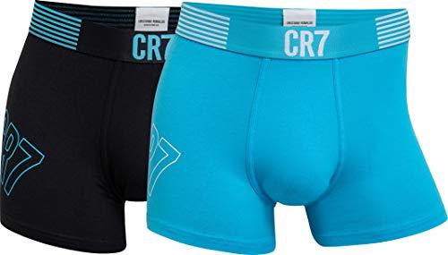 CR7 Cristiano Ronaldo - Fashion - Bóxers Ajustados para Hombre - Pack de 2 (CR7-8302-4900)