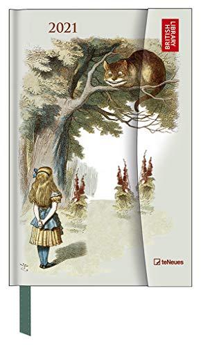 Alice in Wonderland 2021 - Buchkalender - Märchen - Taschenkalender - 10x15: Magneto Diary