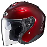 HJC Helmets 874-265 Open-Face Motorcycle Helmet (Wine, X-Large)
