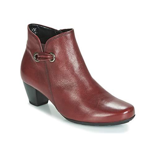 GABOR 3282758 Enkellaarzen/Low boots femmes Rood Enkellaarzen
