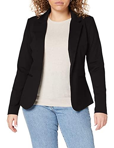 ICHI Damen KateIH Bl Blazer, Schwarz (Black (Solid) 10001), 42 (Herstellergröße: XL)