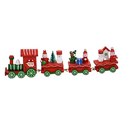 Christmas Tree Hanging Ornaments,Jchen Christmas Decoration Gift Christmas Train Decoration Decoration Best Gifts for Kids Christmas New Year