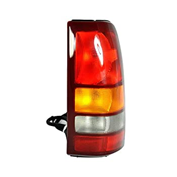 Dependable Direct Passenger Side  RH  Tail Light Lamp For 1999-2002 CHEVY SILVERADO 1500 and 1999-2002 GMC SIERRA 1500 GM2801173 Includes Bulb
