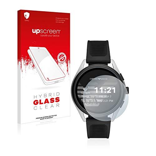 upscreen Panzerfolie Schutzfolie kompatibel mit Emporio Armani Connected Smartwatch 3-9H Extrem Kratzfest, Anti-Fingerprint, Ultra-Transparent