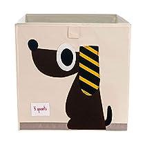 3-Sprouts-Caja-de-almacenamiento-cubico-Contenedor-de-almacenamiento-para-ninos-y-ninos-pequenos-Perro