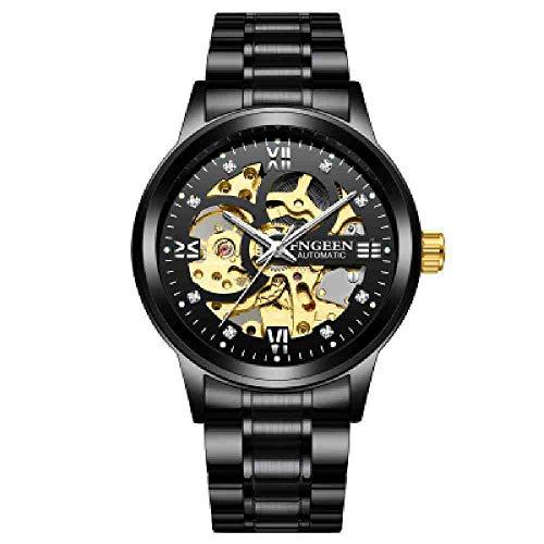 BDDLLM Reloj de Pulsera Reloj automático para Hombre Reloj