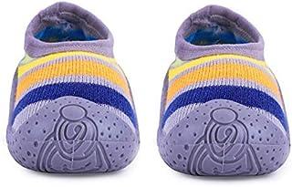 u-grow Baby Anti-Skid Breathable Soft & Comfortable Socks Shoes (20, Grey)