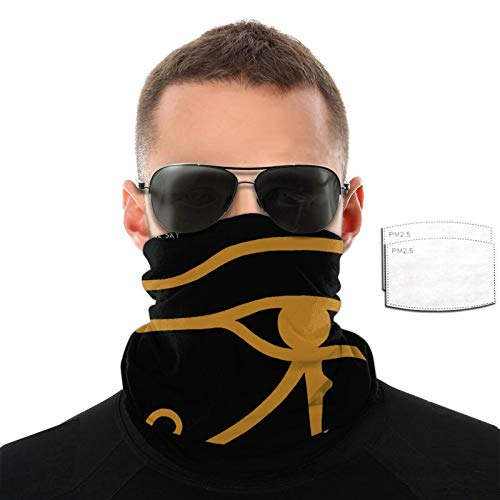 Alan Parsons Project Bandana Balaclava Reusable Washable Neck Warmer Winter Dust Wind Gaiter Scarf Headgear Multiuse For Men Women With 2 Filter One Size