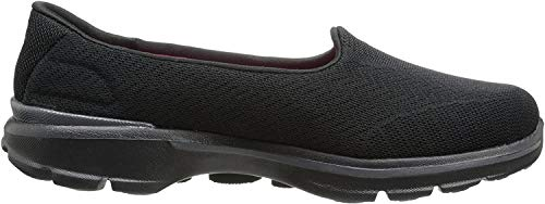 Skechers GO WALK 3Insight Damen Sneakers, Negro (Bbk), 37 EU