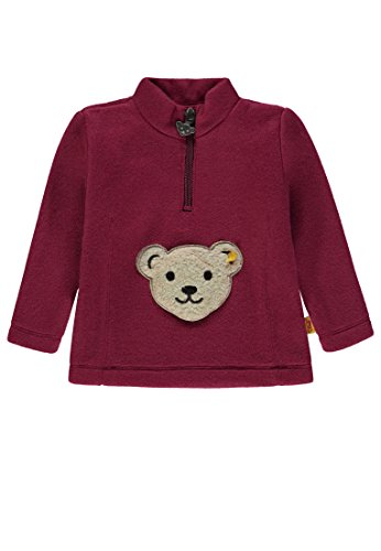 Steiff Steiff Mädchen 1/1 Arm Fleece Sweatshirt, Rot (Anemone|Red 2144), 110