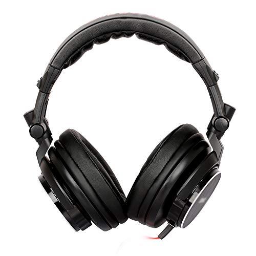 Auriculares profesionales de monitorización, auriculares de estudio para DJ, orejeras de proteína...