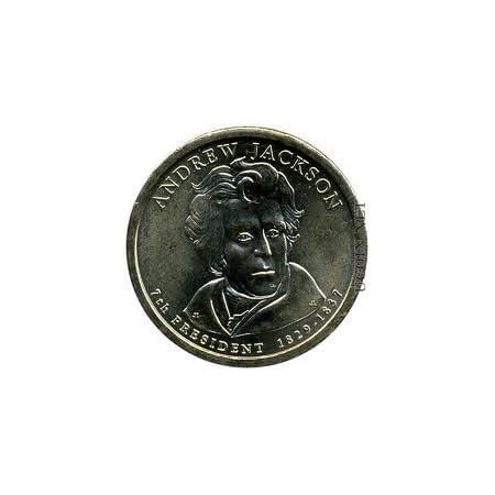 2008 P  Andrew Jackson Dollar ~ Satin Mint ~ Pos B ~ In Mint Wrap
