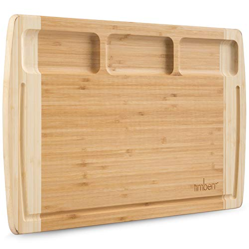 Bamboo Charcuterie Board 18 x 12 Inches