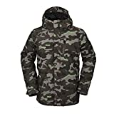 Volcom Giacca Snowboard Uomo Gore Tex Jacket Army L