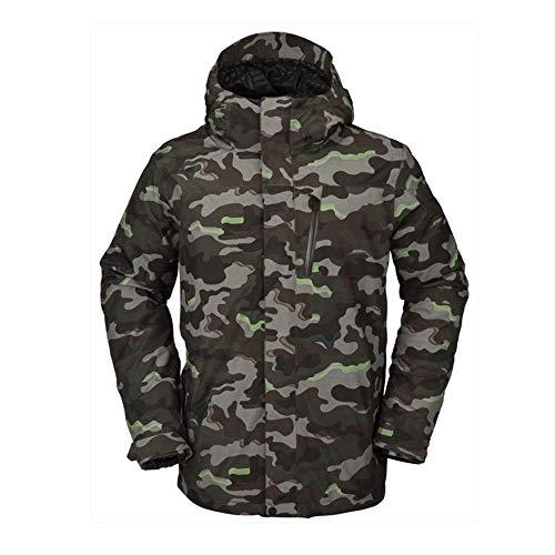Volcom L Gore-Tex Snowboard Jacket Mens Sz L Army Camo