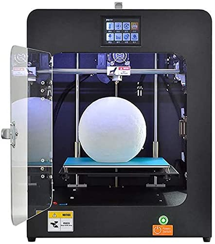 RSBCSHI 3D Resin Printer Extruder, Smart Touch Color Screen, Power Supply Resume Printing, Demountable Glass Bed, For Home School,Black