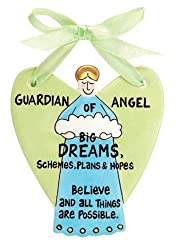 The Guardian Angel of Big Dreams - Inspirational Wall Decor