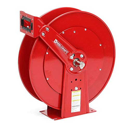 Reelcraft TH88000 OMP Twin Hydraulic Spring Retractable Hose Reel, 50' Twin Hydraulic Hose Not Included