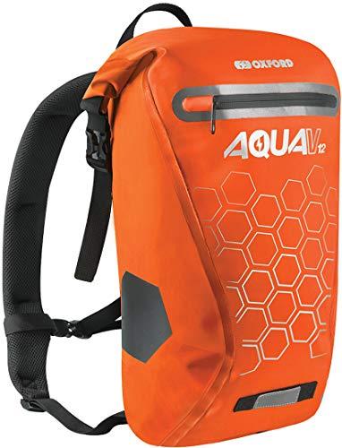 Oxford Unisex's OL694 Aqua V - Mochila (12 L), color naranja