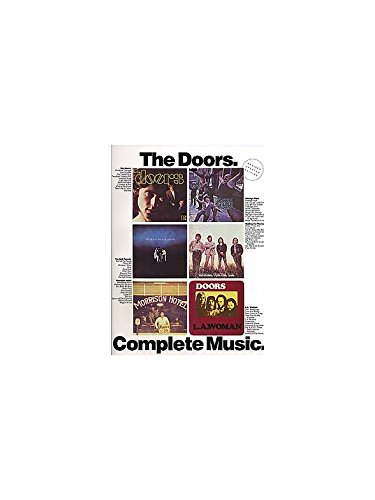 The Doors: Complete Music. Partitions pour Piano, Chant et Guitare(Symboles d\'Accords)