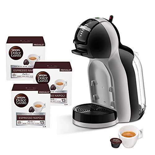 Offerta Macchina per Caffè Espresso De Longhi EDG155.BG Mini Me per Capsule Compatibili Nescafè Dolce Gusto + 48 capsule Nescafè Dolce Gusto Napoli