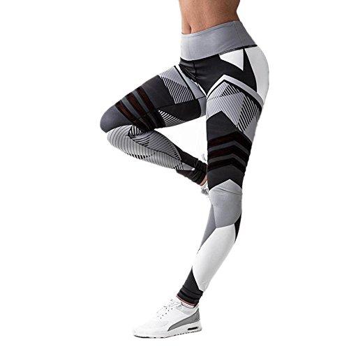 HOMEBABY Vrouwen Sport Gym Yoga Workout Mid Taille Hardloopbroek Fitness Elastische Leggings