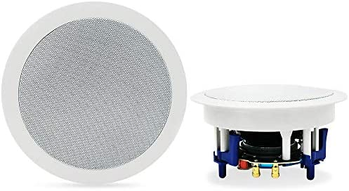 Herdio 5 25 Inc hBluetooth Flush Mount in Ceiling 2 Way Universal Home Speaker System 300 Watts product image